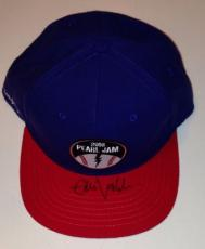 EDDIE VEDDER Signed PEARL JAM Wrigley Field Chicago CUBS Style HAT + PSA DNA Loa