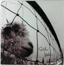 Eddie Vedder Signed Vs Album Cover W/ Vinyl Auto Graded Gem Mint 10! PSA #V09700
