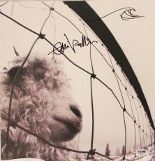 """EDDIE VEDDER Sketch & Autographed Signed PEARL JAM """"VS"""" Album LP PSA/DNA AA06677"""