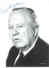 "EDGAR BUCHANAN - Best Known as UNCLE JOE CARSON from the ""PETTICOAT JUNCTION"", ""GREEN ACRES"", and ""THE BEVERLY HILLBILLIES"" TV Sitcoms - Passed Away 1979 Signed 7x9 B/W Photo"