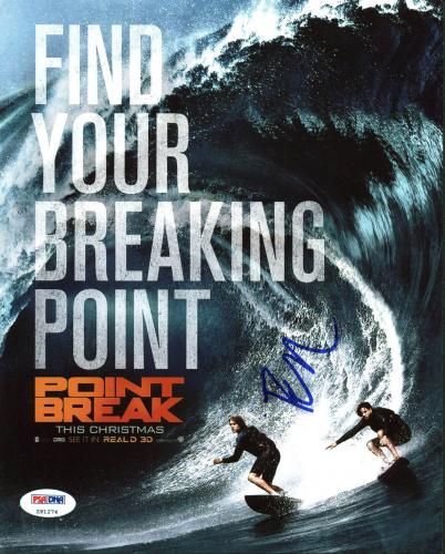 Edgar Ramirez Point Break Signed 8X10 Photo PSA/DNA #Z91274