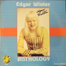 Edgar Winter Signed - Autographed Vinyl Album Cover with Album
