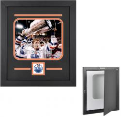 Edmonton Oilers Horizontal 8'' x 10'' Photo Display Case - Mounted Memories