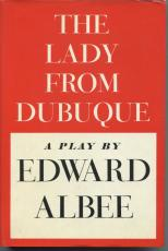 Edward Albee Maureen Anderman Irene Worth The Lady from Dubuque Signed Book