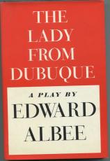 Edward Albee Maureen Anderman The Lady from Dubuque Signed Autograph 1st Ed Book