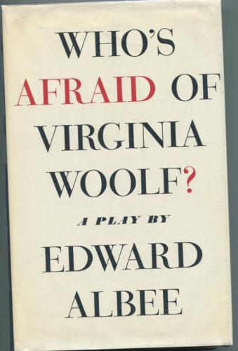 Edward Albee & Cast Who's Afraid of Virginia Woolf Signed Autograph 1st Ed Book