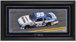 Carl Edwards Framed Mini Panoramic with Facsimile Signature