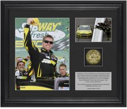Carl Edwards 2013 Subway Fresh Fit 500 at Phoenix Winner Collectible 2-Photo Collage with Gold-Plated Coin