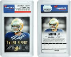 Tyler Eifert Notre Dame Fighting Irish Autographed 2013 Press Pass #11 Draft Card