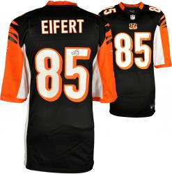 Tyler Eifert Cincinnati Bengals Autographed Nike Limited Black Jersey