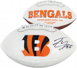 Tyler Eifert Cincinnati Bengals Autographed White Panel Football - Mounted Memories