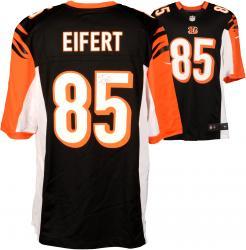 Tyler Eifert Cincinnati Bengals Autographed Nike Replica Black Jersey