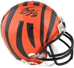 Riddell Tyler Eifert Cincinnati Bengals 2013 NFL Draft Autographed Mini Helmet