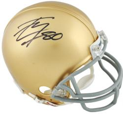 Tyler Eifert Notre Dame Fighting Irish Autographed Riddell Mini Helmet - Mounted Memories