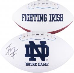 Tyler Eifert Notre Dame Fighting Irish Autographed White Panel Football - Mounted Memories  - Mounted Memories