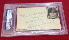 Eileen Herlie signed Index Card Slabbed PSA/DNA #83107847