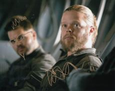 Elden Henson signed The Hunger Games Mockingjay Pollux 8x10 photo w/coa #1