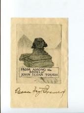 Eleanor Hoyt Brainerd Famous How Could You Jean? Author Signed Autograph