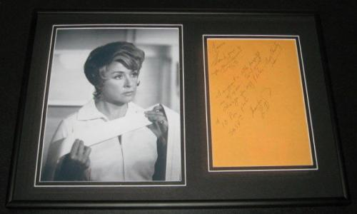 Elena Verdugo Signed Framed Letter & Photo Display Marcus Welby MD