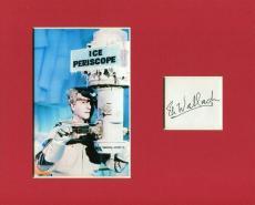 Eli Wallach Batman Villain Mr. Freeze Rare Signed Autograph Photo Display