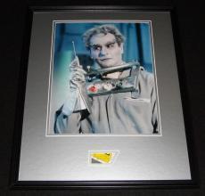 Eli Wallach Mr. Freeze Signed Framed 16x20 Photo Display Batman B
