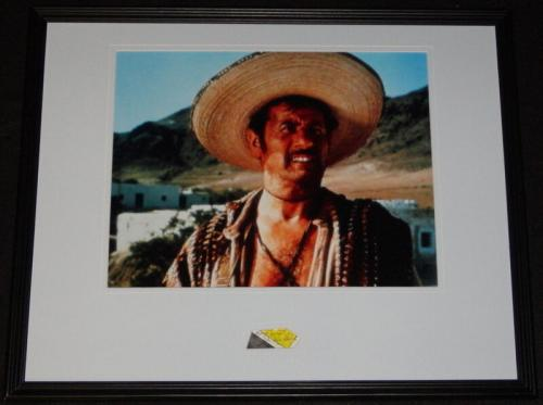 Eli Wallach Signed Framed 16x20 Photo Display The Good The Bad & The Ugly