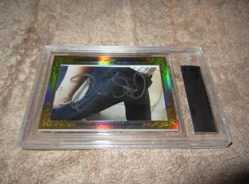 Elijah Wood 2015 Leaf Masterpiece Cut Signature 1/1 auto JSA Lord of the Rings