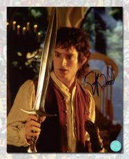 Elijah Wood Autographed Frodo Baggins Lord of the Rings 8x10 Photo