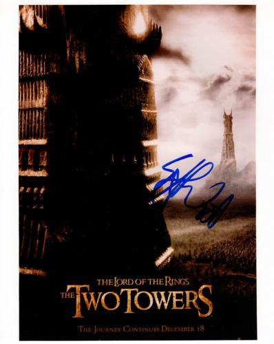Elijah Wood Autographed Signed 8x10 LOTR Photo AFTAL