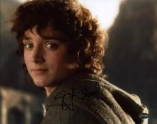 Elijah Wood Lord Of The Rings Signed 11X14 Photo PSA/DNA #3A43037