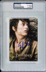 ELIJAH WOOD Signed 4x6 Lord of the Rings Return of the King Poster Photo PSA/DNA