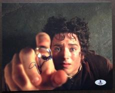 Elijah Wood Signed 8x10 Photo Beckett Coa Lord Of The Rings Frodo Bas