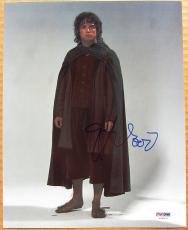 Elijah Wood signed 8x10 photo PSA/DNA Lord of the Rings LOTR Frodo