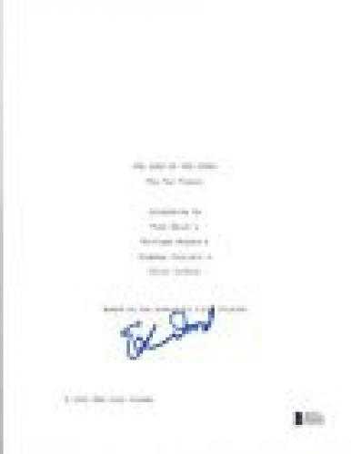 Elijah Wood Signed Autograph THE LORD OF THE RINGS THE TWO TOWERS Script BAS COA