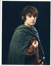 Elijah Wood Signed Autographed 8x10 Photo Lord of the Rings The Hobbit COA VD