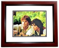 Elijah Wood Signed - Autographed Lord of the Rings - Frodo Baggins 11x14 inch Photo - MAHOGANY CUSTOM FRAME - Guaranteed to pass PSA or JSA