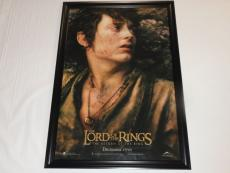 Elijah Wood Signed Framed The Lord Of The Rings Return Of The King 27x40 Poster