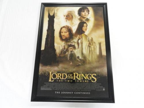 Elijah Wood Signed The Lord Of The Rings Two Towers 27x40 Movie Poster