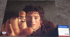 FRODO!!! Elijah Wood Signed LOTR LORD OF THE RINGS 11x14 Photo #1 PSA/DNA