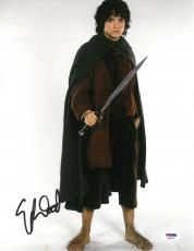 Elijah Wood Signed LOTR Authentic Autographed 11x14 Photo PSA/DNA #AB87448