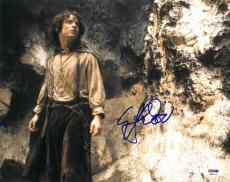 Elijah Wood Signed LOTR Authentic Autographed 11x14 Photo (PSA/DNA) #H80116