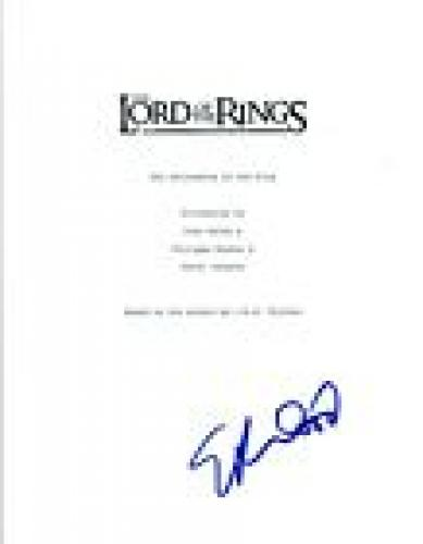 Elijah Wood Signed THE LORD OF THE RINGS FELLOWSHIP OF THE RING Script COA