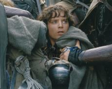 ELIJAH WOOD signed *THE LORD OF THE RINGS* FRODO 8X10 photo *PROOF* W/COA #3