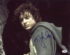 Elijah Wood The Lord of the Rings Signed 11x14 Photo PSA/DNA #J17206