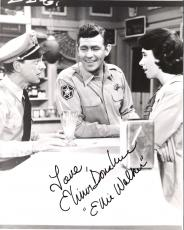 "ELINOR DONAHUE as PHARMACIST ELLIE WALKER on ""THE ANDY GRIFFITH SHOW"" Signed 8x10 B/W Photo"
