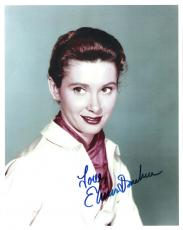 "ELINOR DONAHUE as PHARMACIST ELLIE WALKER on ""THE ANDY GRIFFITH SHOW"" Signed 8x10 Color Photo"