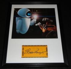 Elissa Knight Signed Framed 11x14 Photo Display Wall-E Eve