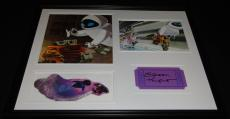 Elissa Knight Signed Framed 16x20 Photo Display Wall-E Eve