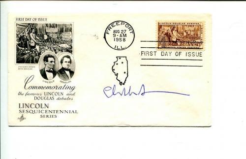 Elizabeth Alexander Presidential Inauguration Obama Poet Signed Autograph FDC