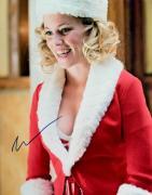 Elizabeth Banks Autographed Signed Christmas 11x14 Photo AFTAL
